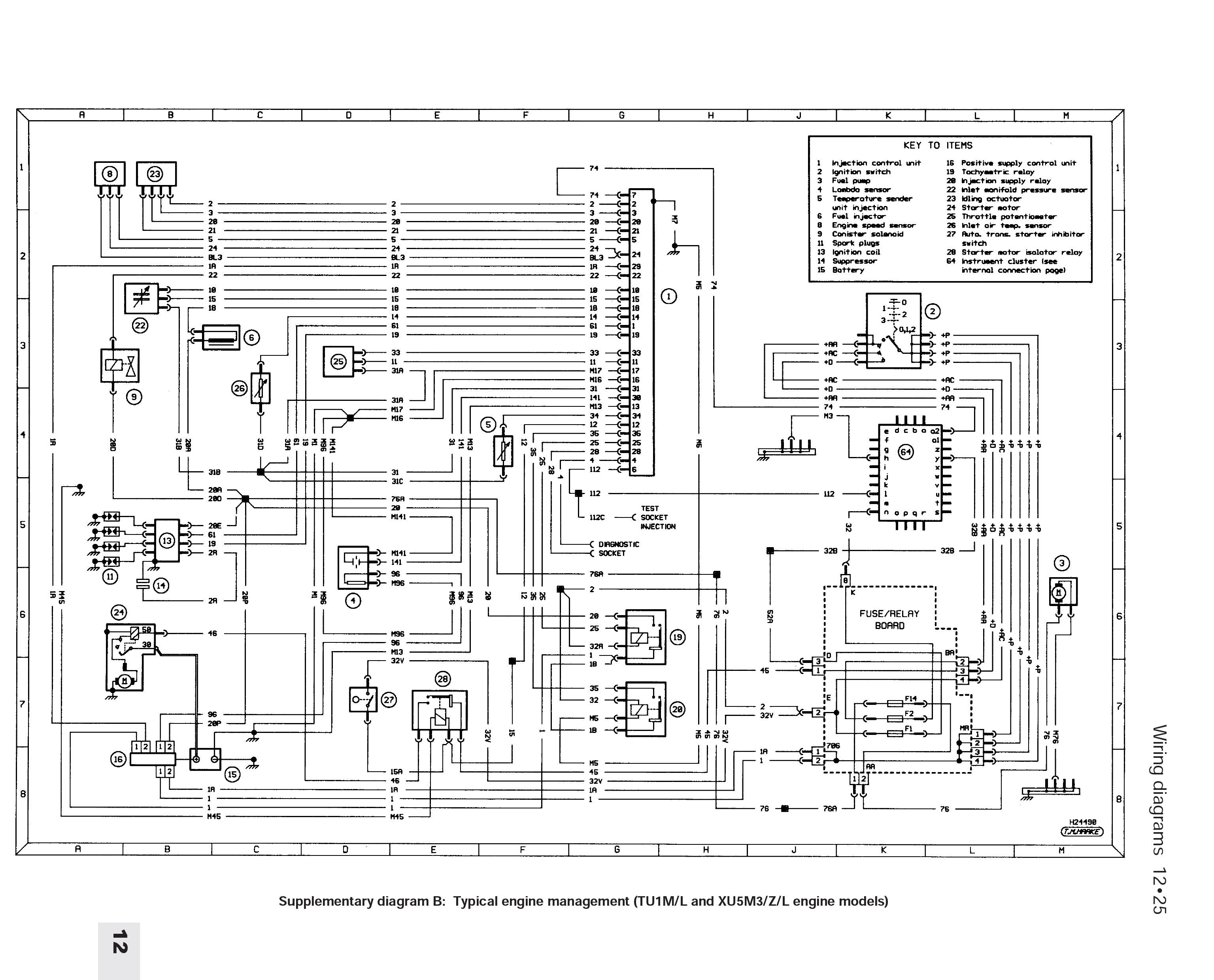 205 Mi16 Wiring Diagram