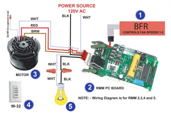 Casablanca Fan Wiring Diagram