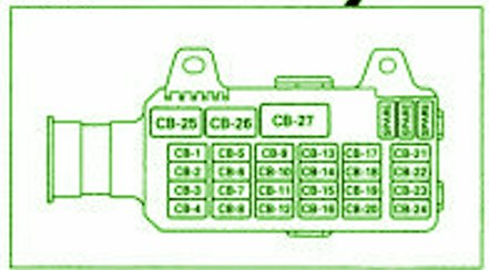 1996 isuzu rodeo fuse box diagram xg 9875  isuzu rodeo headlight wiring diagram free diagram  isuzu rodeo headlight wiring diagram