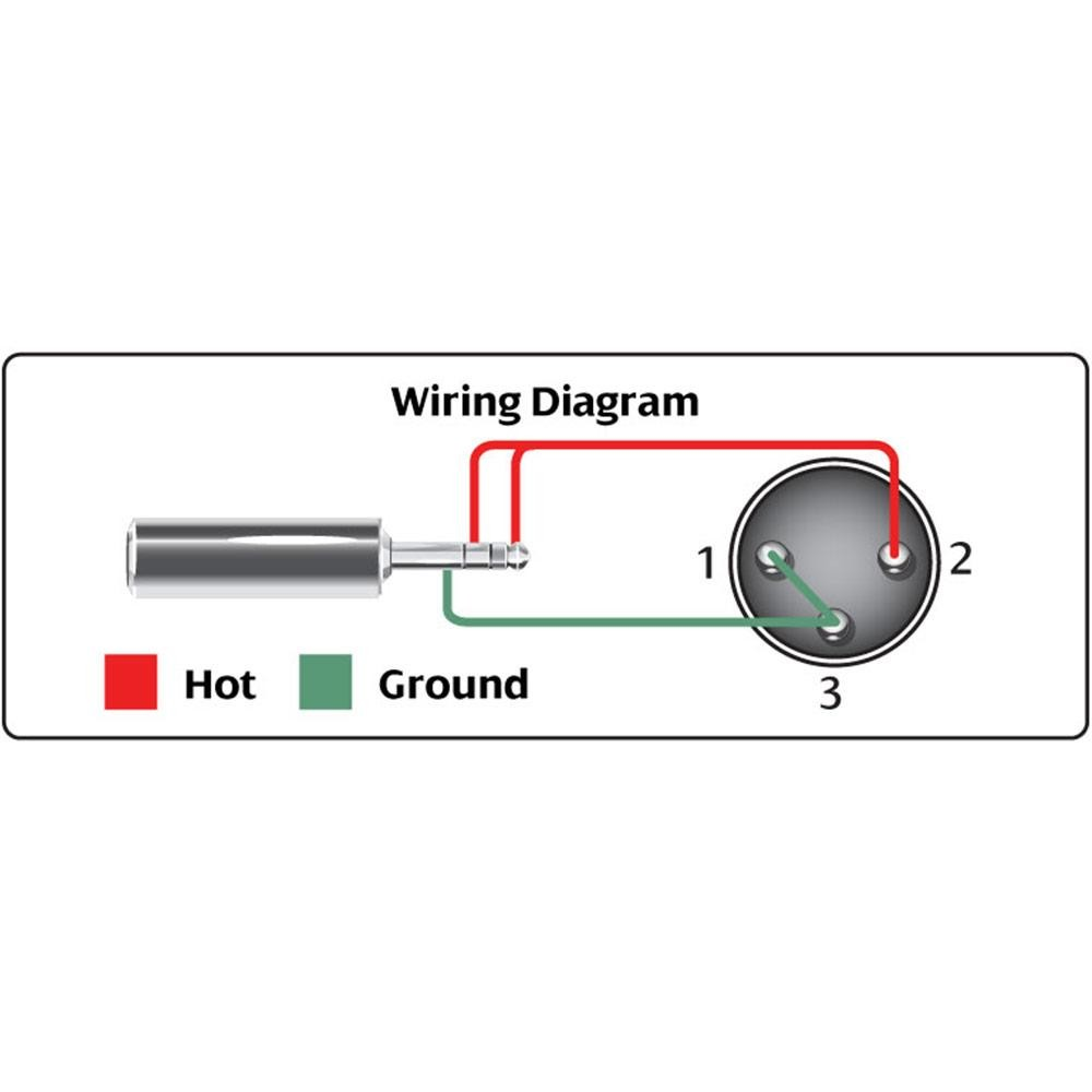 Diagram  15ft 3 5mm 1 8 Inch Trs Stereo Male To 2 X Xlr