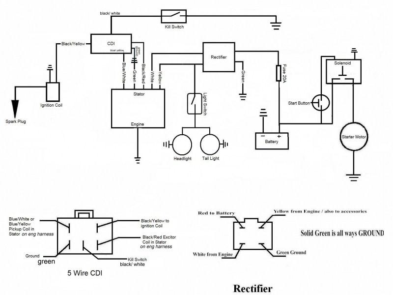 ah3428 diagram besides 1978 honda ct70 wiring diagram on