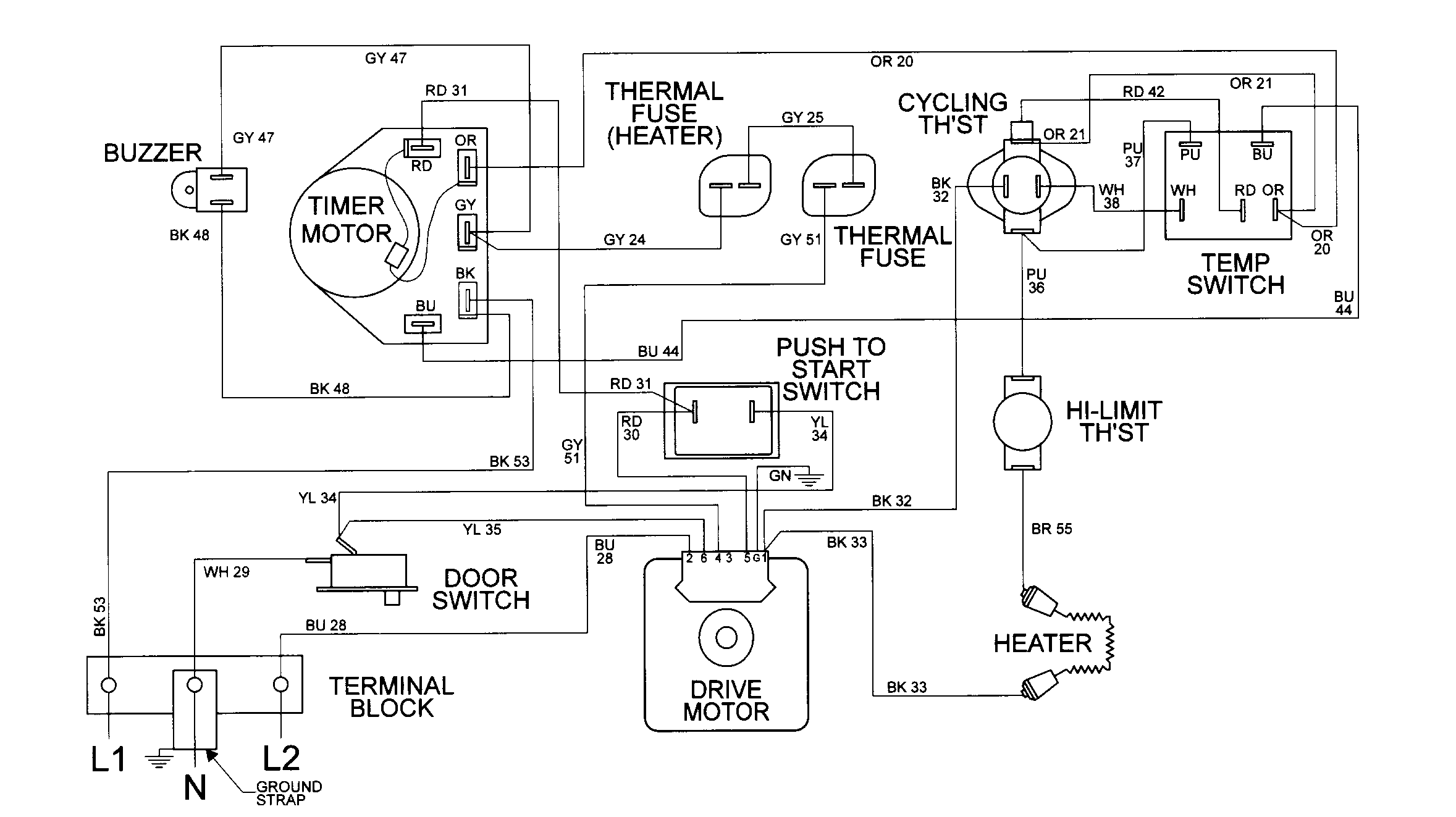 Vx 6121 Dryer Wiring Diagram Sle