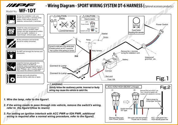 Negative Switching Toyota Hilux Spotlight Wiring Diagram