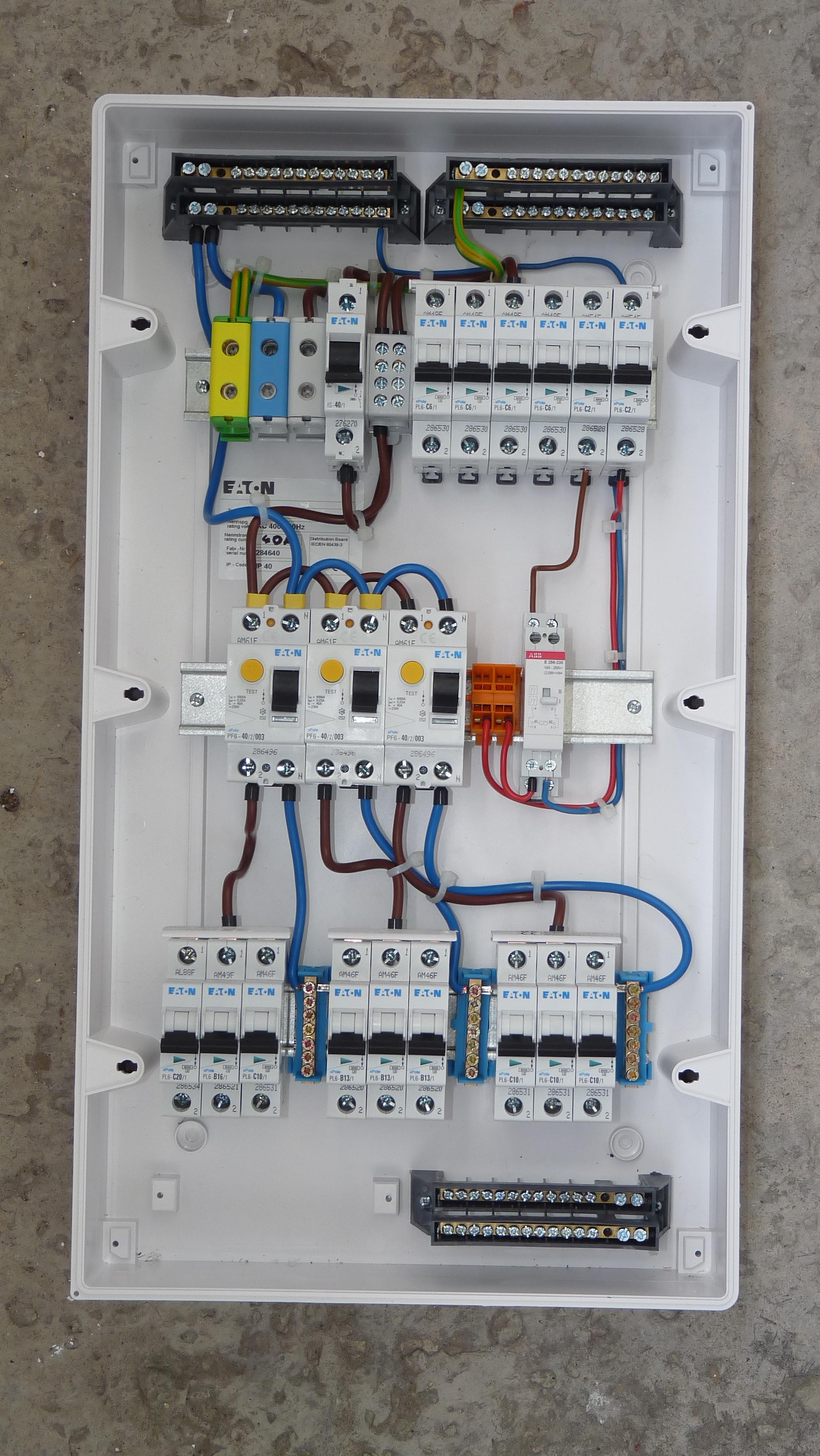 Surprising Distribution Board Wiring Pdf 9 5 Tramitesyconsultas Co Wiring Cloud Ostrrenstrafr09Org