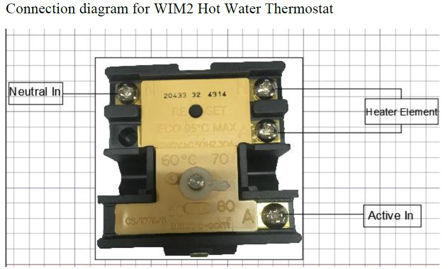 hot water thermostat wiring diagram  1994 ranger fuse box