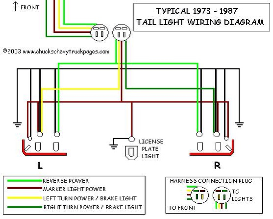 91 Chevy Truck Tail Light Wiring Diagram   Wiring Diagrams Test pipe   Chevrolet Tail Light Wiring Harness      wiring diagram library