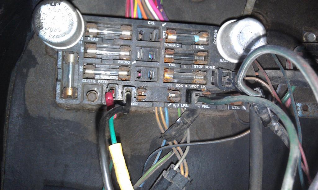69 C10 Fuse Box Wiring Diagrams Database