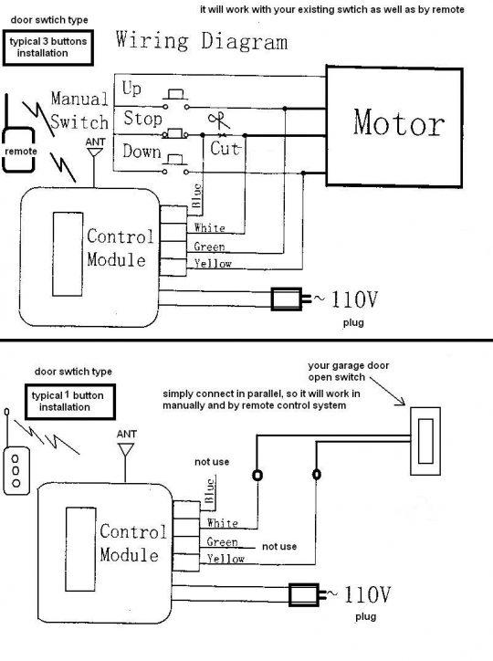 Tx 8066 Door Opener Sensor Wiring Diagram Furthermore Chamberlain Garage Door Download Diagram