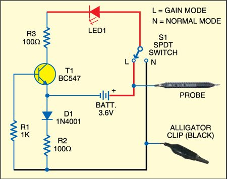 Peachy Leakage And Continuity Tester Detailed Circuit Diagram Available Wiring Cloud Monangrecoveryedborg