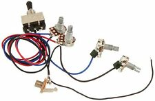 Enjoyable Wiring Harness Prewired 3 Way Toggle Switch 500K For Les Paul Lp Wiring Cloud Itislusmarecoveryedborg