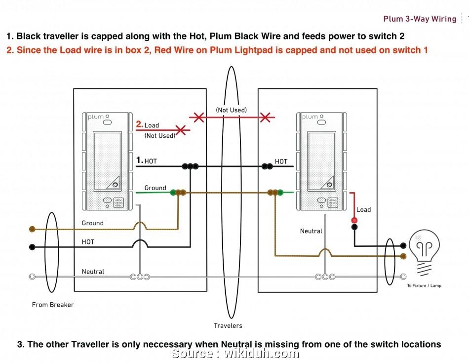 Leviton 3 Way Wiring Diagram Schematic