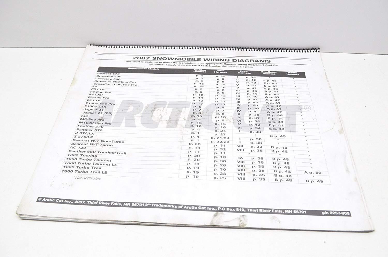 Eh 3849 07 Arctic Cat Snowmobile Wiring Diagram Download Diagram