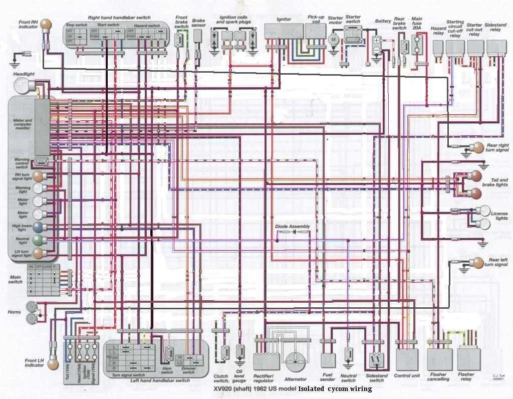 [DIAGRAM_38IU]  1986 Virago Wiring Harness - Ds650 Wiring Diagram for Wiring Diagram  Schematics   Virago 920 Wiring Diagram      Wiring Diagram Schematics