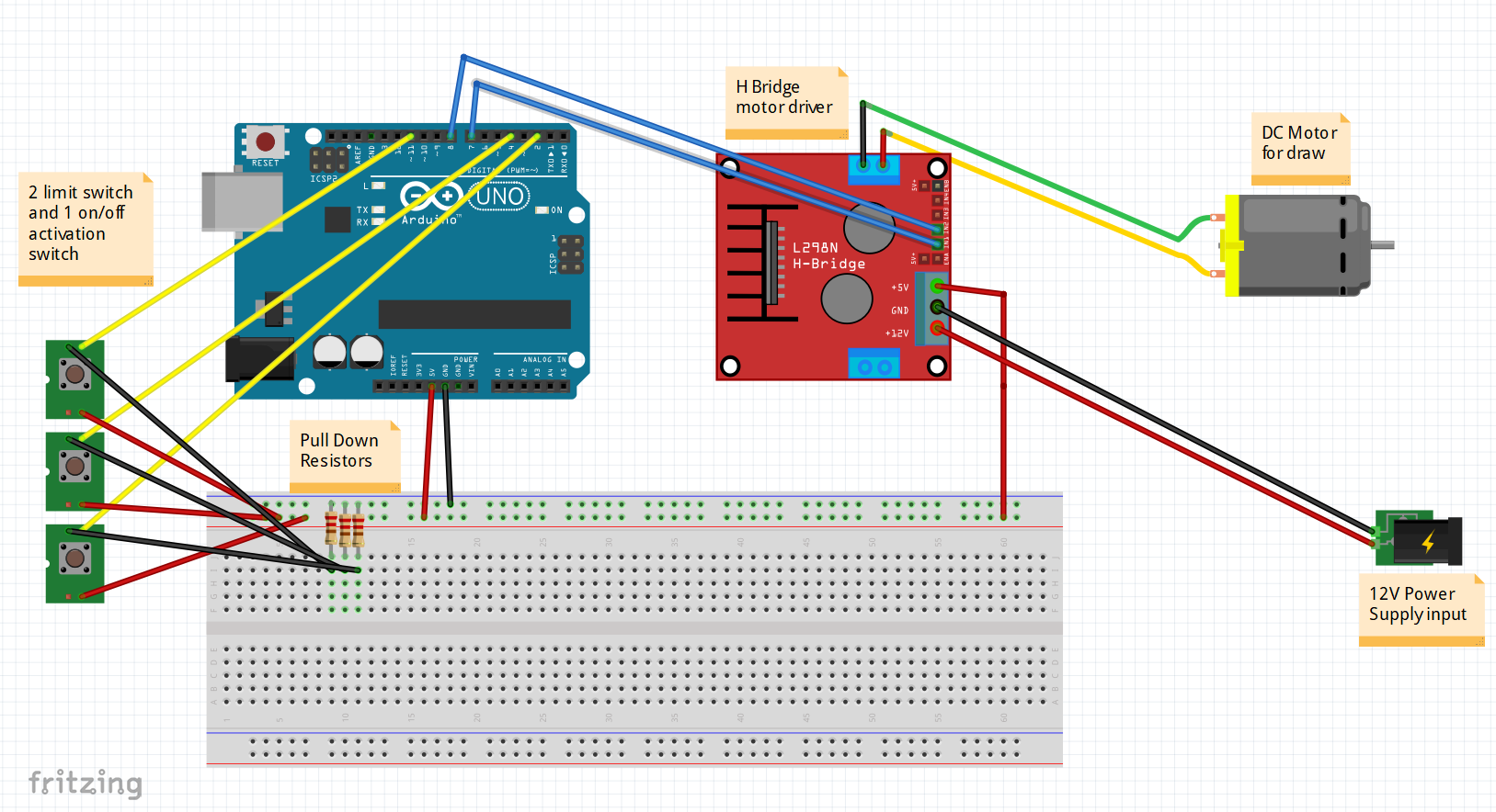 Pleasant Stopping Starting Dc Motor With Limit Switches And On Off Button Wiring Cloud Eachirenstrafr09Org
