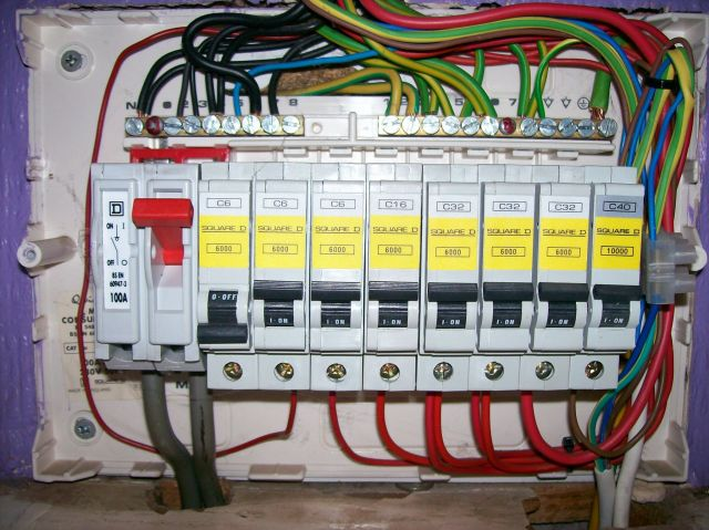 Kw 9558 Residential Electrical Installation Distribution Boards Components Wiring Diagram