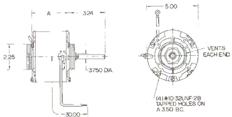 Ao Smith Condenser Fan Motors Wiring Diagram