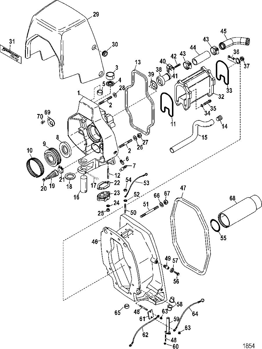 XA_6716] Mercruiser Transom Plate Diagram Schematic Wiring