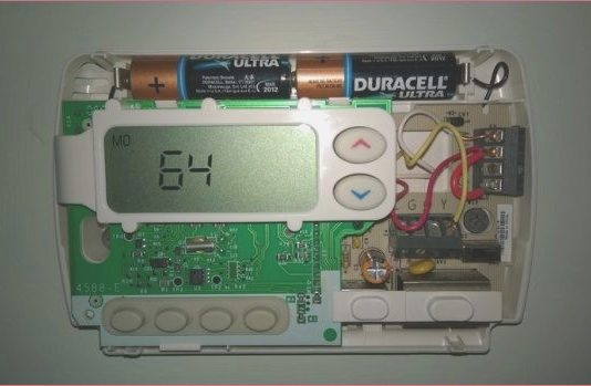 White Rodgers Thermostat Wiring Diagram 1f82 261
