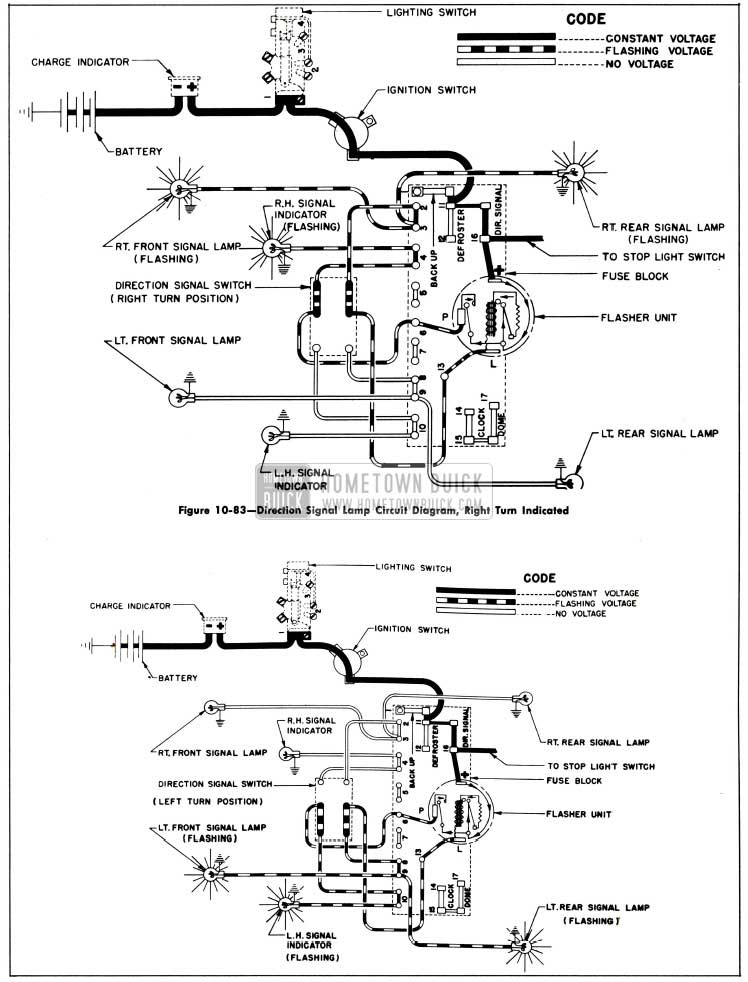 WF_4651] Charging Circuit Diagram For The 1953 55 Buick All Except 1953  Series 40 Schematic WiringPlan Wigeg Mohammedshrine Librar Wiring 101