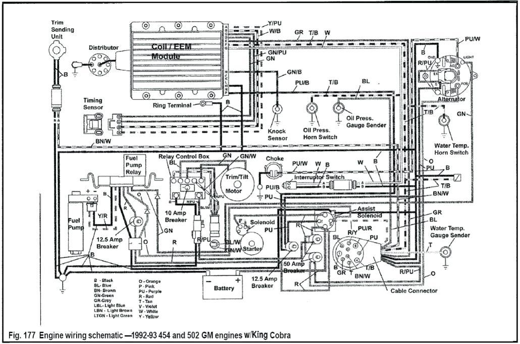 Mercury Outboard Motor Wiring Diagrams