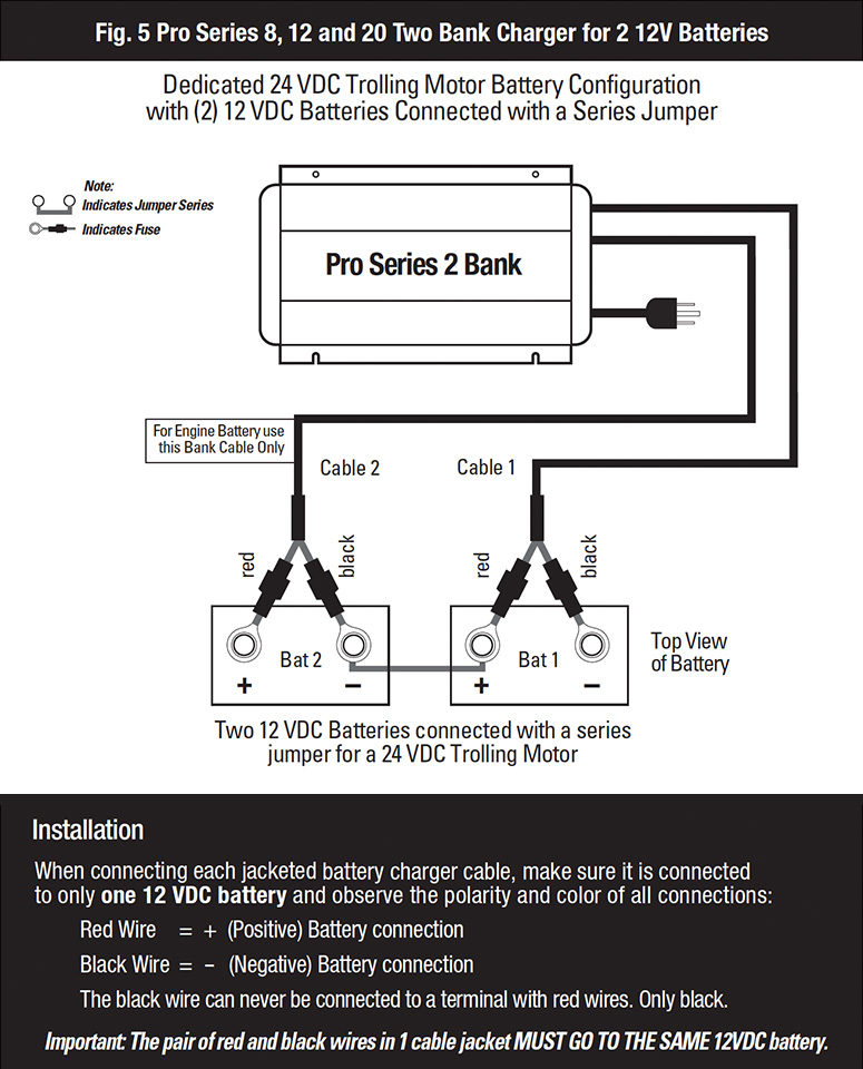3 Bank Charger Wiring Diagram 4 Wire