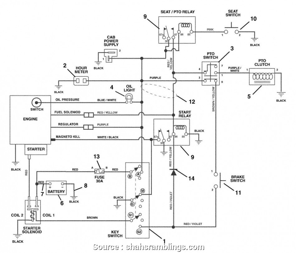 briggs and stratton starter solenoid wiring diagram - database