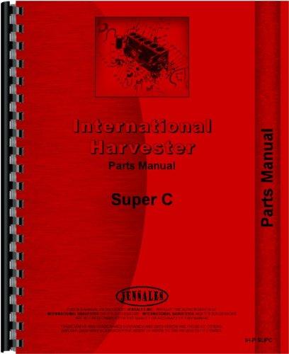 Pleasing Amazon Com Farmall Super C Tractor Parts Manual 1951 1954 Home Wiring Cloud Timewinrebemohammedshrineorg
