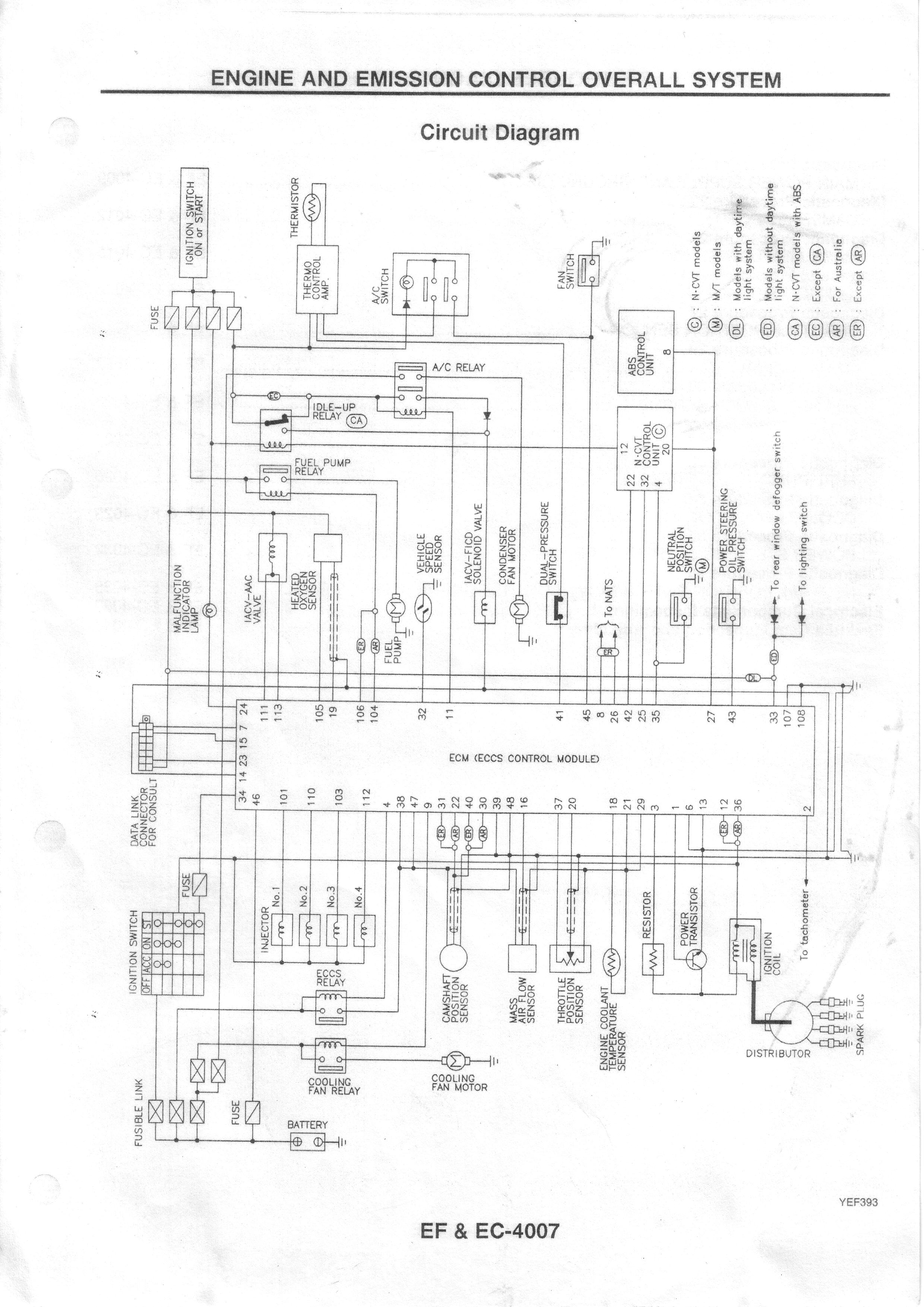 Nissan Micra Headlight Wiring Diagram