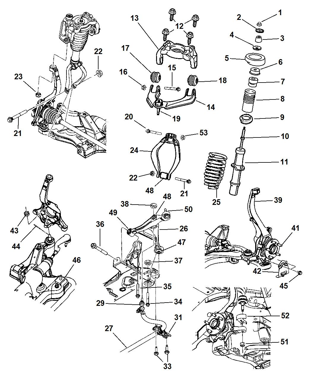 dodge parts diagram 2002 dodge stratus rear suspension diagram wiring diagram data  2002 dodge stratus rear suspension