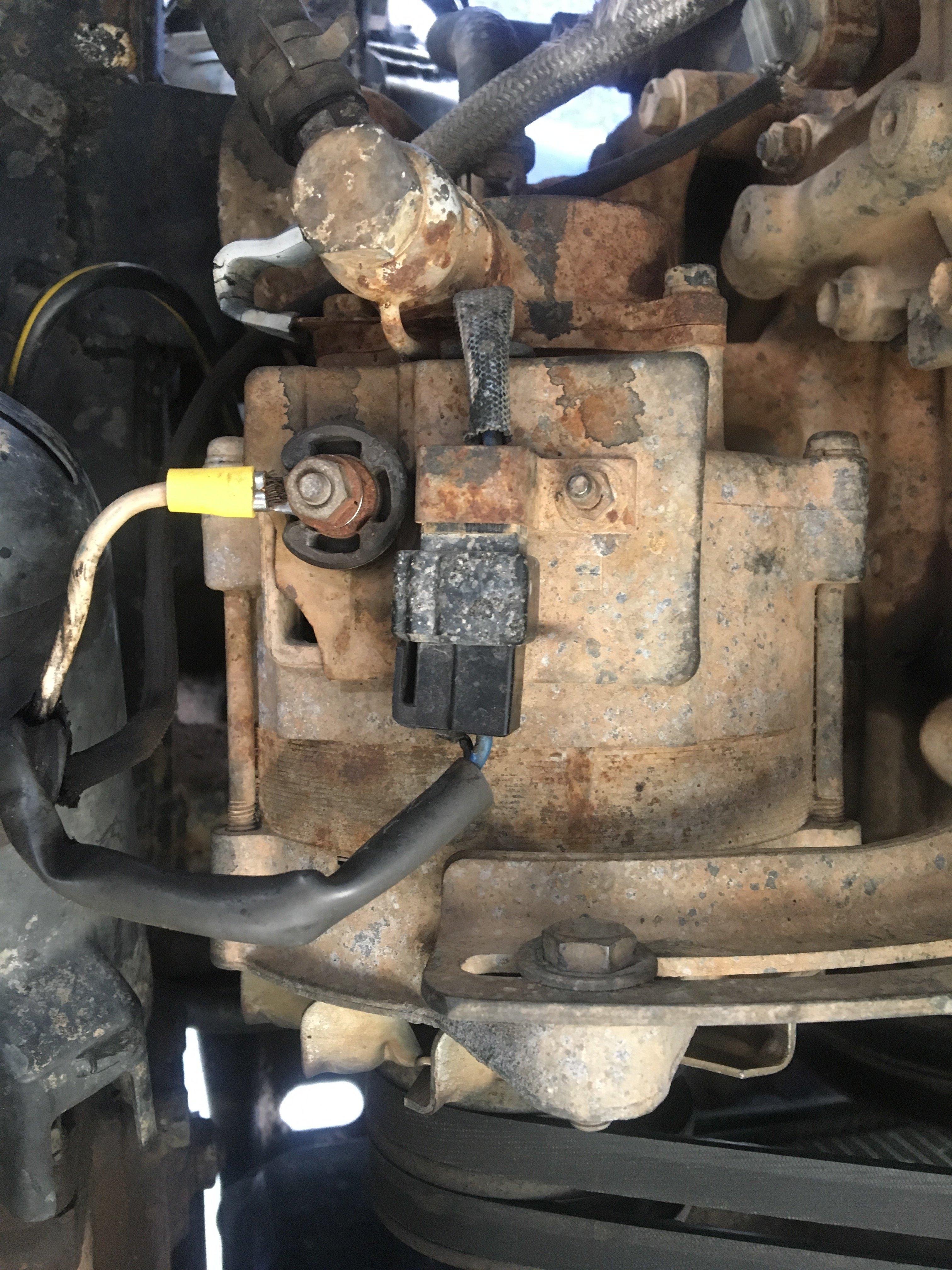 Hilux Alternator Wiring Diagram   Vauxhall Zafira Fuse Box Layout ...