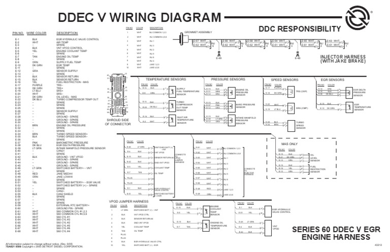 [DIAGRAM_38ZD]  EH_6565] Ddec 5 Wiring Schematic Download Diagram | Detroit Sel Wiring Harness |  | Www Mohammedshrine Librar Wiring 101