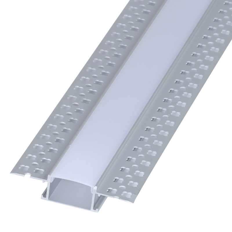 Wondrous Led Strip Alum Profile Xc0012 Recessed Mounting On The Wall Cl Wiring Cloud Licukshollocom