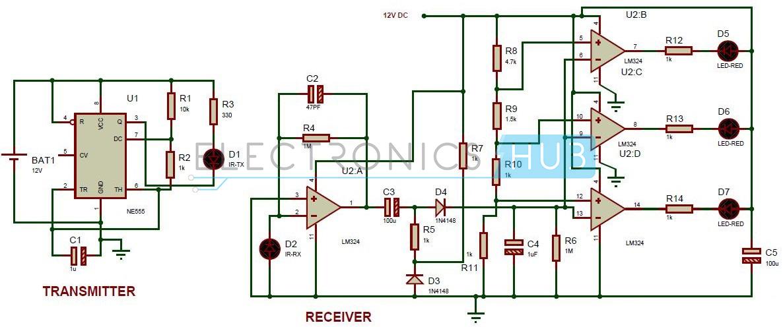 Sensational Reverse Parking Sensor Circuit For Car Security System Wiring Cloud Histehirlexornumapkesianilluminateatxorg