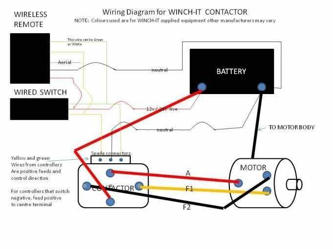 12 Volt Reversing Solenoid Wiring Diagram