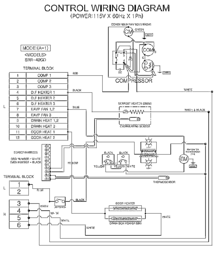 Sanyo Compressor Wiring Diagram