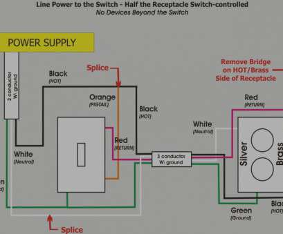 Fw 2207 Switch From Outlet On Household Light Switch Outlet Wiring Diagrams