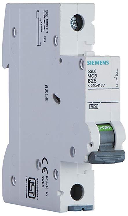 Stupendous Buy Siemens Plastic 10A 1 Pole Miniature Circuit Breaker White Wiring Cloud Cranvenetmohammedshrineorg