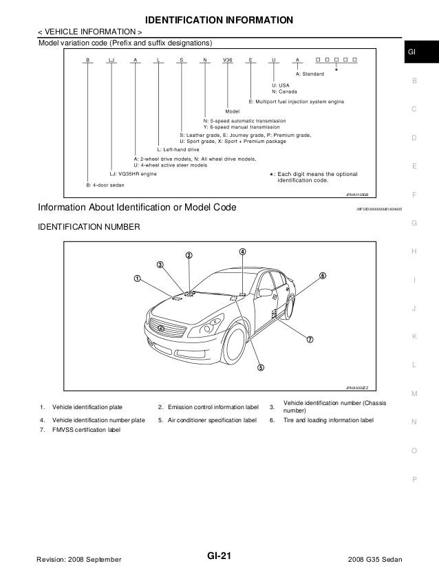 GF_5039] 2007 Infiniti G35 Sedan Engine Diagram