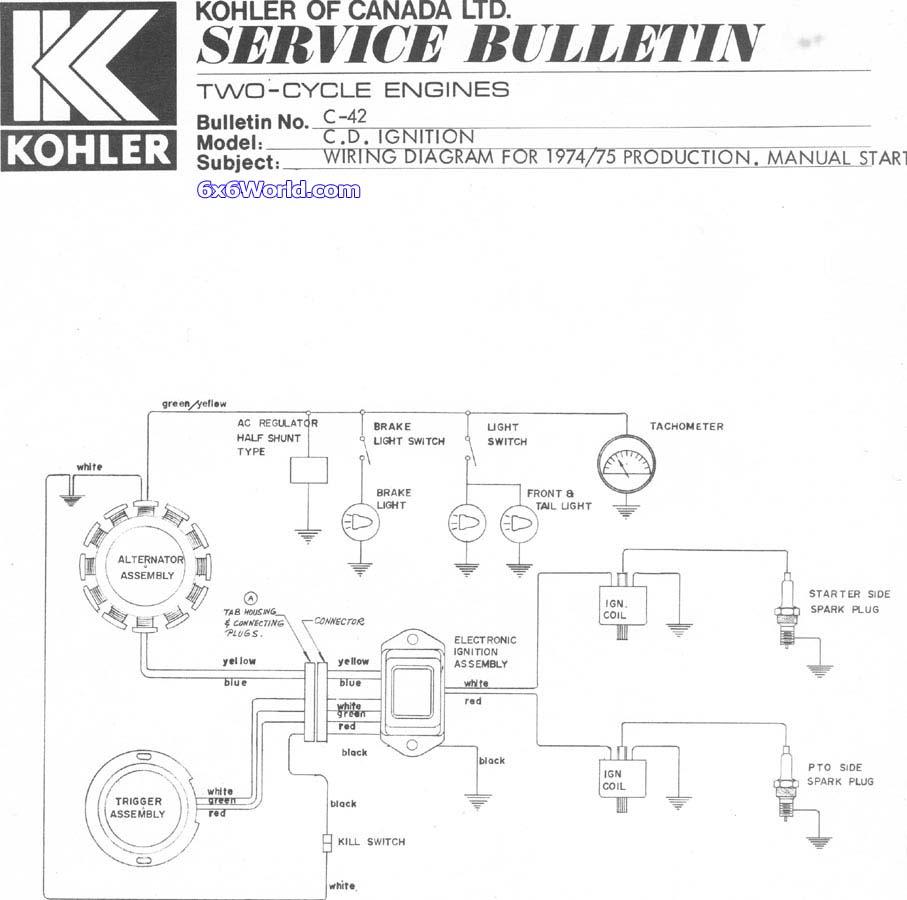 Kohler Magnum 18 Hp Wiring Diagram