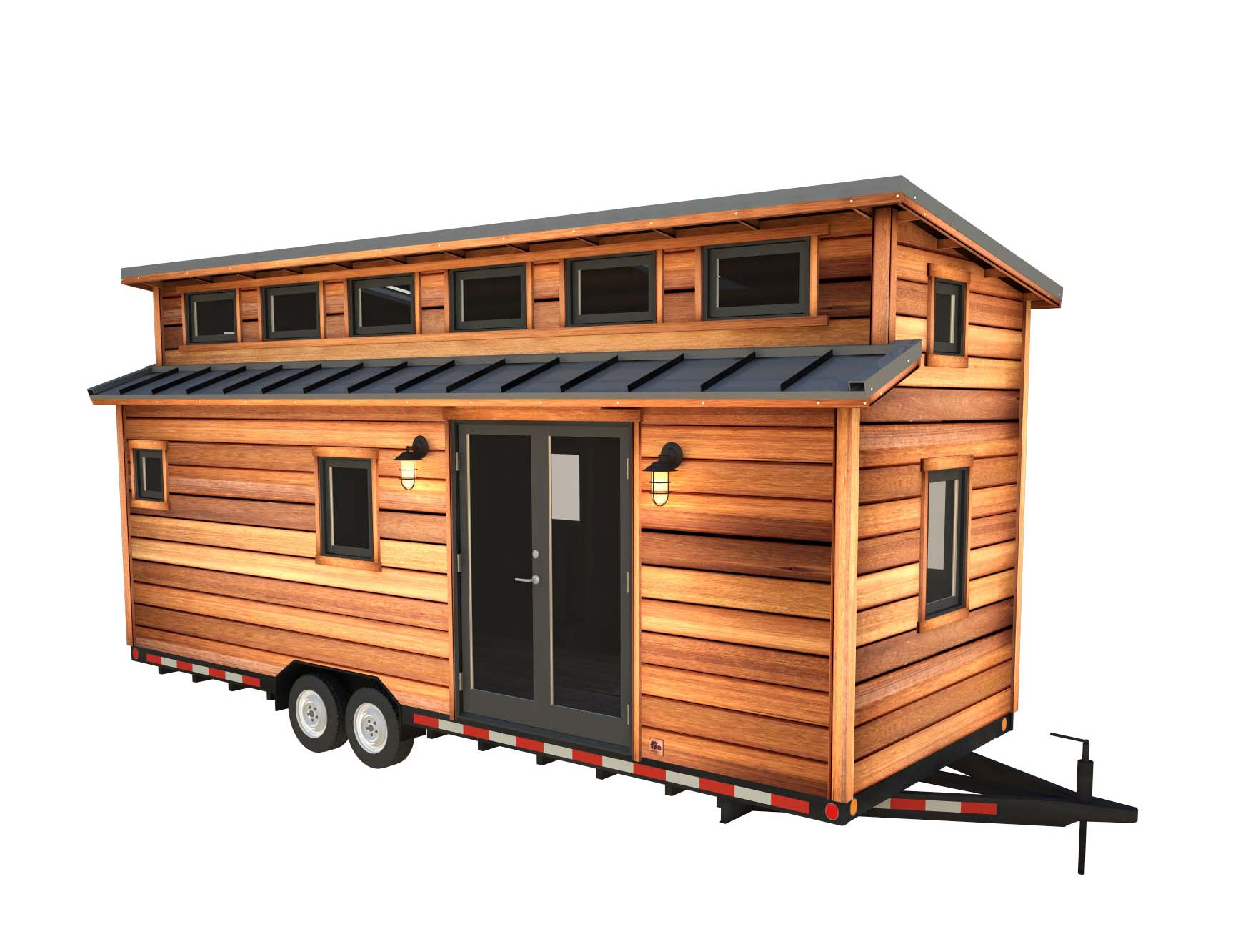 Tremendous The Cider Box Modern Tiny House Plans For Your Home On Wheels Wiring Cloud Ostrrenstrafr09Org