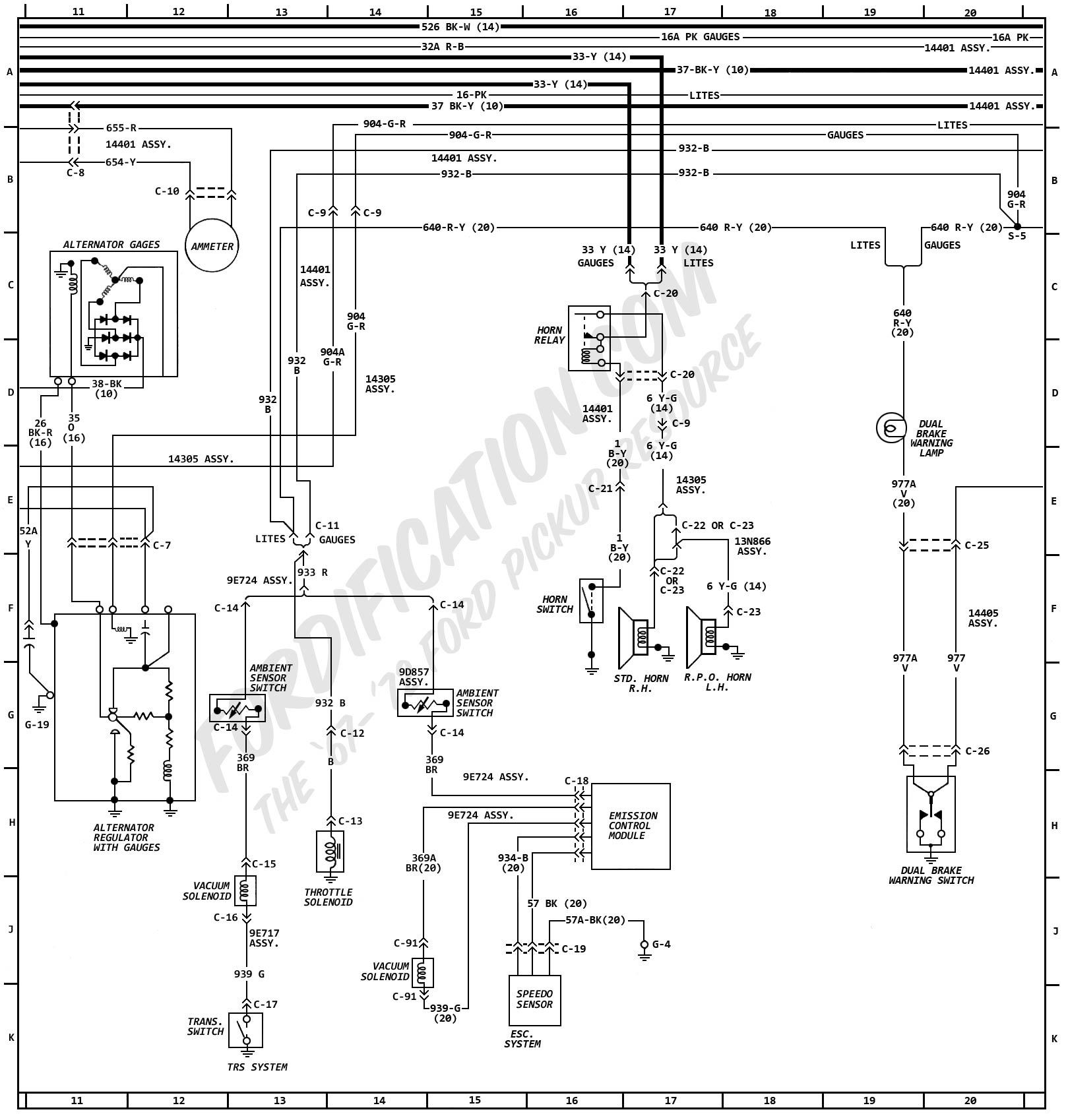ford l8000 lighting diagram vb 8520  chevy silverado wiring diagram also 1996 ford l8000  vb 8520  chevy silverado wiring diagram