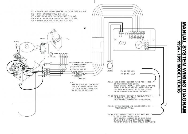 Belly Dump Trailer Wiring Diagram