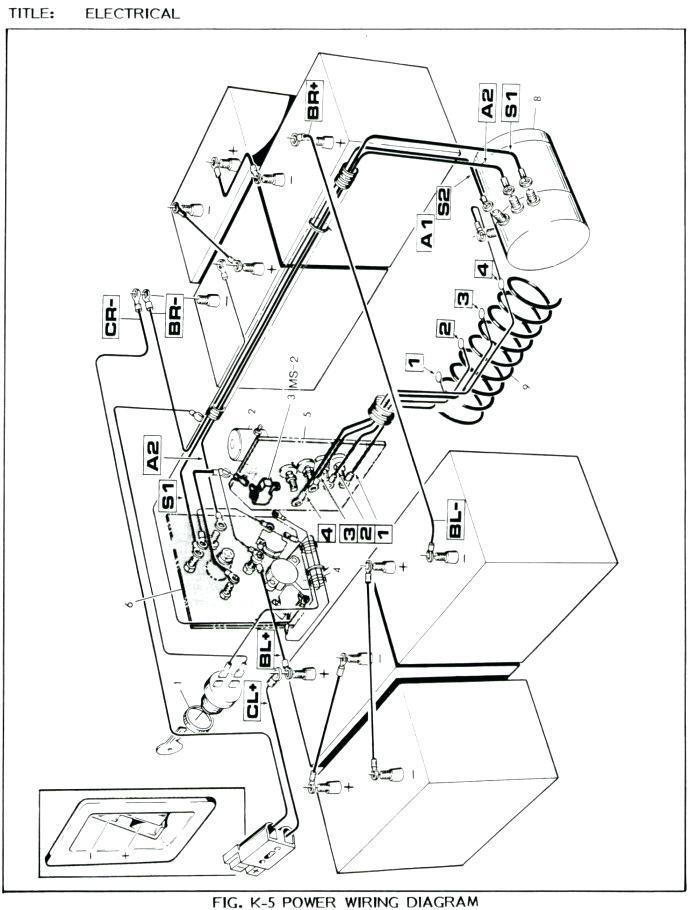 1989 Ez Go Marathon Wiring Diagram - Wiring Diagram