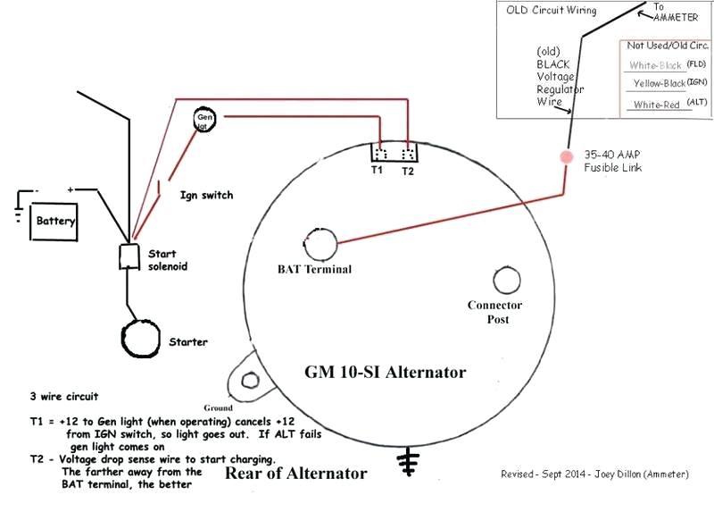 AA_1086] Externally Regulated Delco Alternator Wiring Diagram Wiring DiagramDict Hicag Tool Mohammedshrine Librar Wiring 101