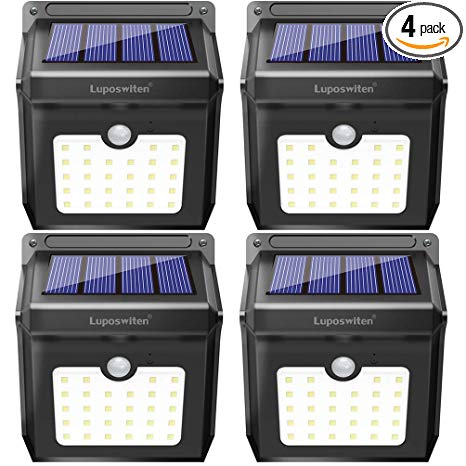 Awesome 28 Leds Solar Lights Outdoor Luposwiten Solar Motion Sensor Lights Wiring Cloud Icalpermsplehendilmohammedshrineorg