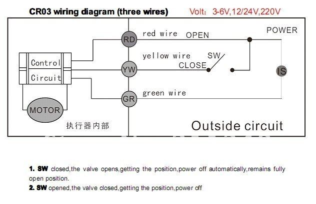 Bo 5923 12 Volt 3 Way Ball Valve Wiring Diagram 12 Circuit