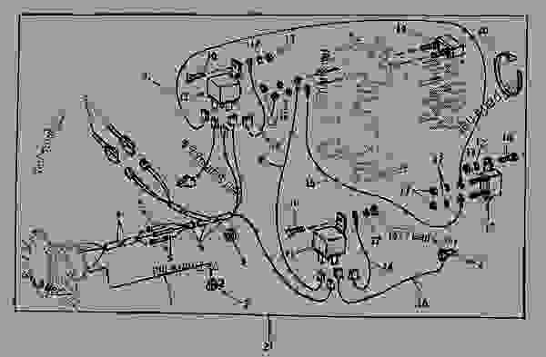 john deere 60 tractor wiring diagram john deere wiring harness wiring diagram data  john deere wiring harness wiring