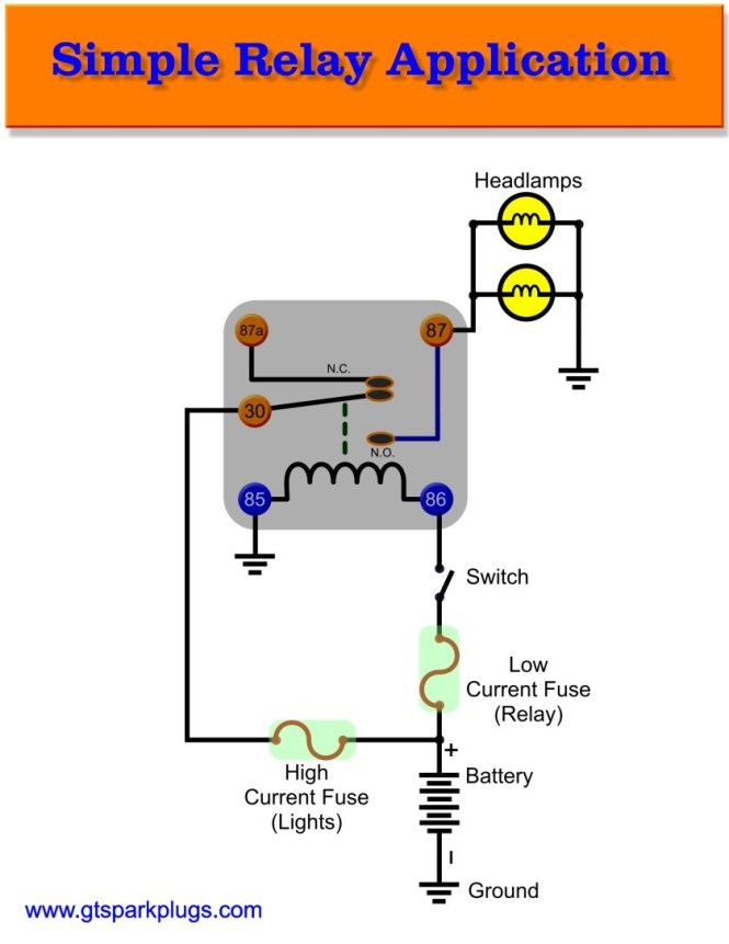 55 New 4 Prong Relay Wiring Diagram
