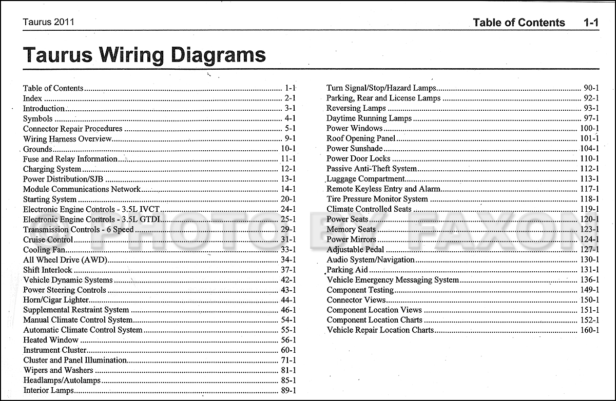 Groovy 2011 Ford Wiring Diagram Wiring Diagram Wiring Cloud Waroletkolfr09Org