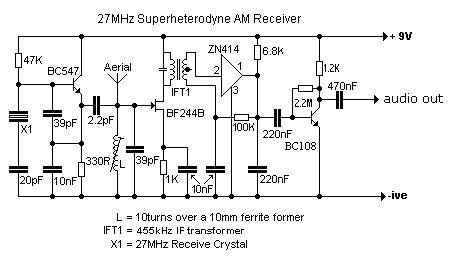 YX_9945] 27Mhz Cb Receiver Circuit Free DiagramViewor Amenti Spoat Bepta Mohammedshrine Librar Wiring 101
